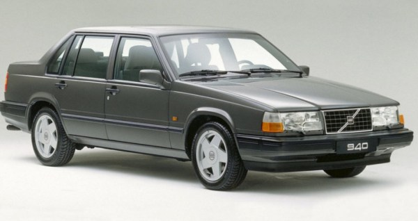 Volvo 940 turbo gray