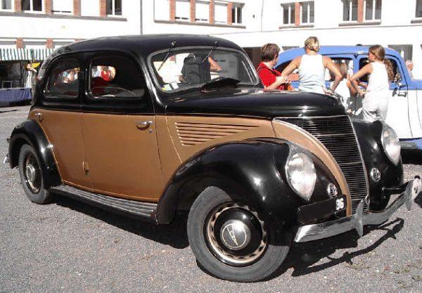 1937 Matford V8-72 Alsace 13 CV