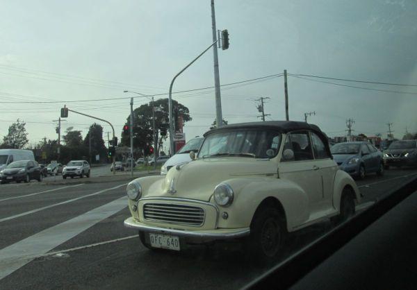 1958 Morris Minor convertible