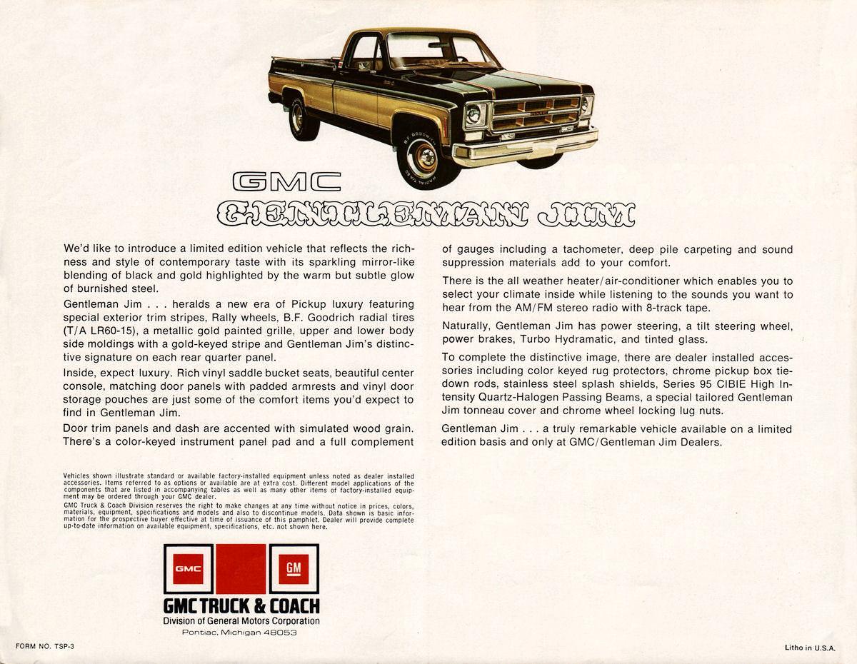 Gmc Gentleman Jim Autos Post