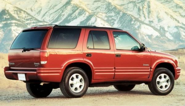 1996 Bravada rear