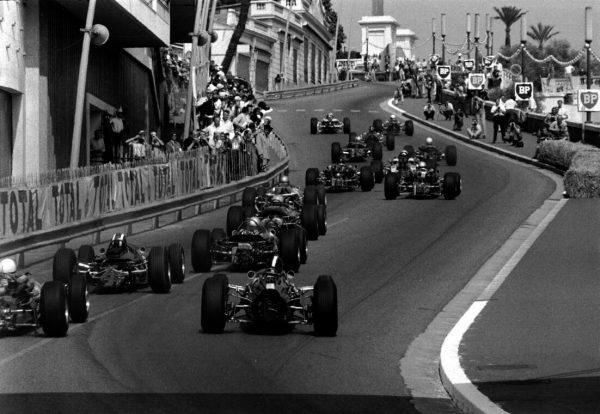 Monaco GP, 22 May 1966Lap one