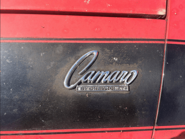 Camaro 1968 SS396 logo
