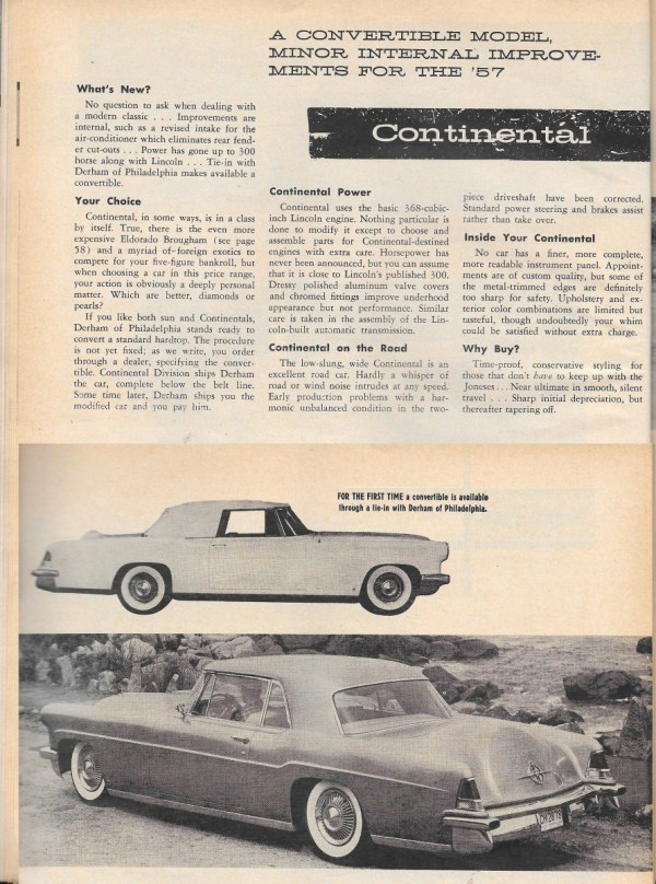 Vintage reviews motor trend s 1957 new car issue ford for Ford motor company news headlines