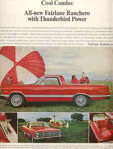 Ford Ranchero 1967 Ad-01
