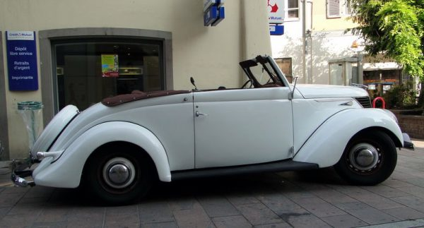 1939 Matford F92A cabriolet – Photo: Oldiesfan67