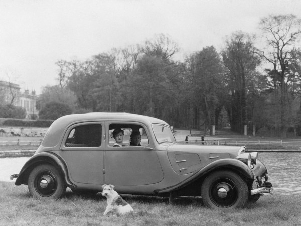 Spring 1934: The little 7 A, the first Traction Avant to hit the streets.