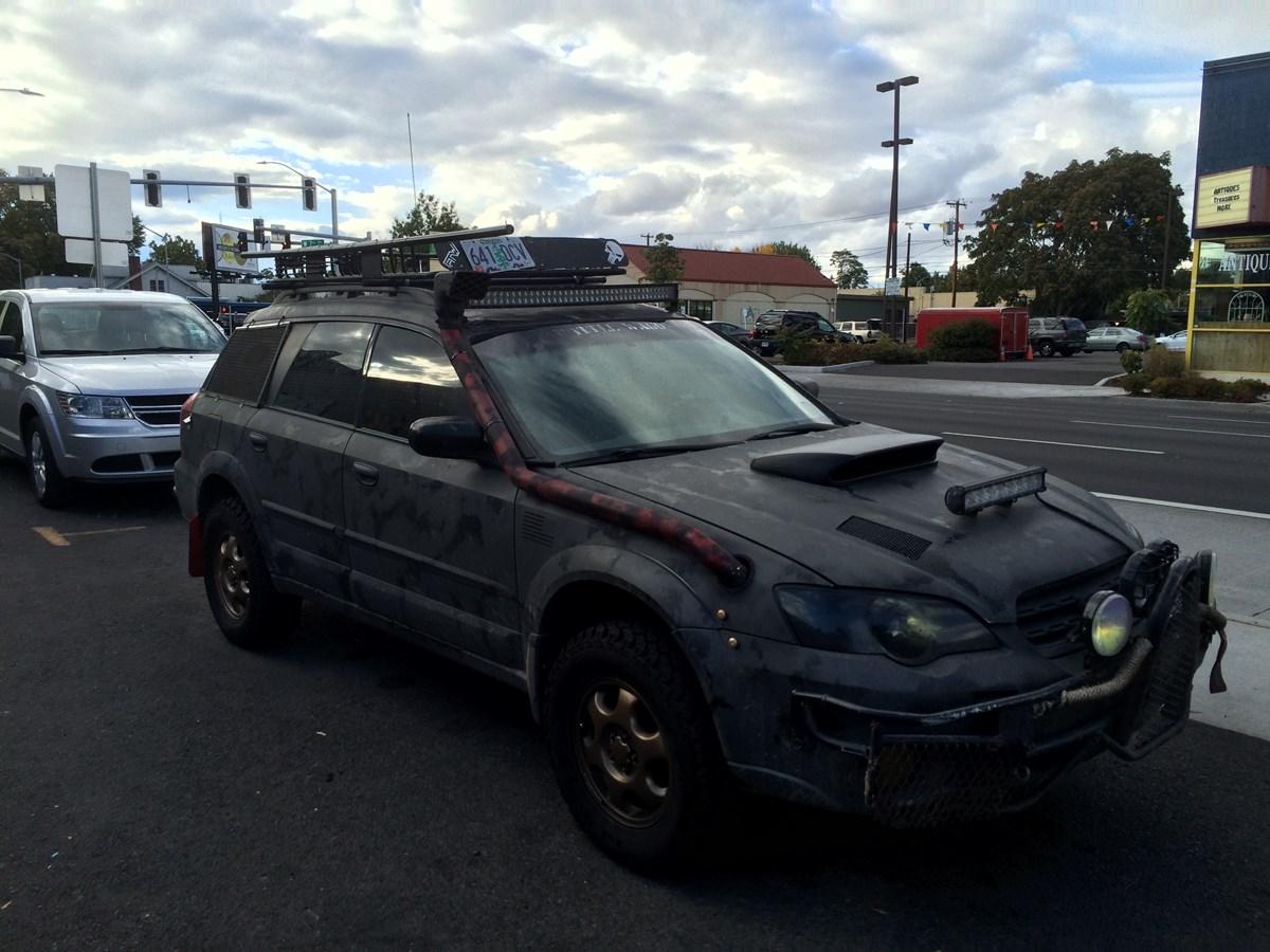 """CC Outtake: Subaru """"Battle Wagon"""" – Off Roader Or Poseur?"""