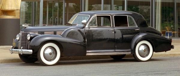 1938 Cadillac Sixty Special. W38HV_CA001