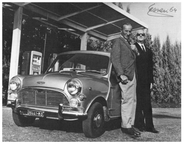 enzo-ferrari-con-sir-alec-issigonis-1964