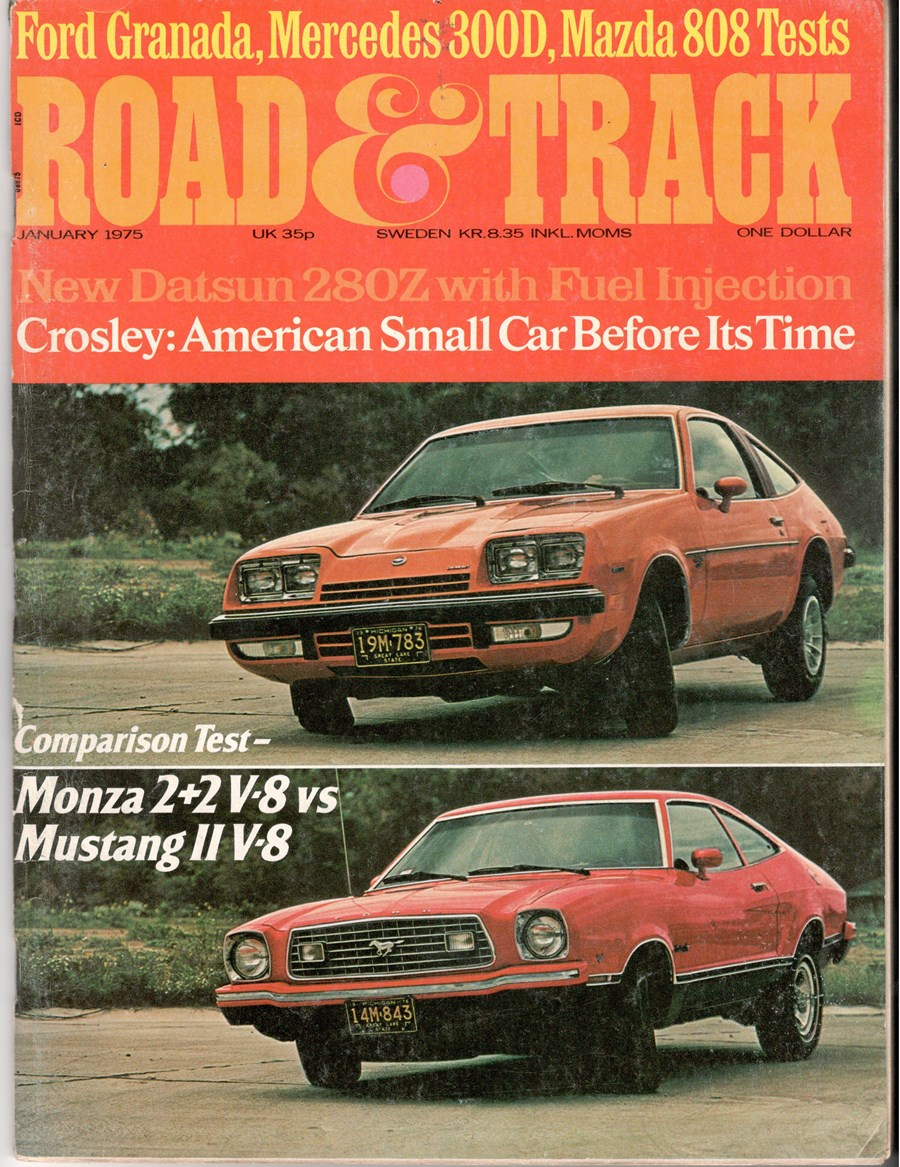 Vintage comparison 1975 mustang ii v8 vs chevy monza 2 2 v8 the v8 shetland pony car shootout