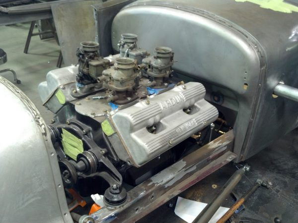 This is (allegedly) a genuine Ardun V8-60 – the hot rodder's wet dream.