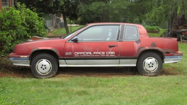 061516-barn-finds-1985-oldsmobile-calais-indy-pace-car-1-1