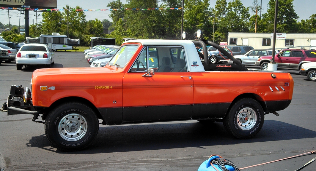 Curbside Classic 1976 International Scout Terra The Hometown Truck Curbside Classic