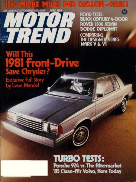 April 1980 Motor Trend