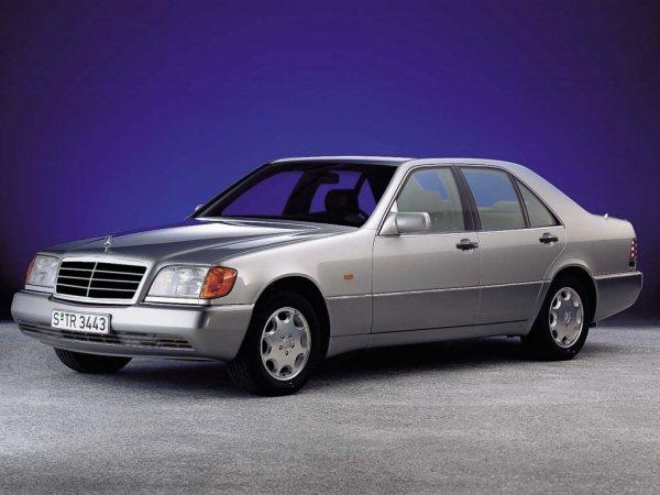 mercedes-w140-silver