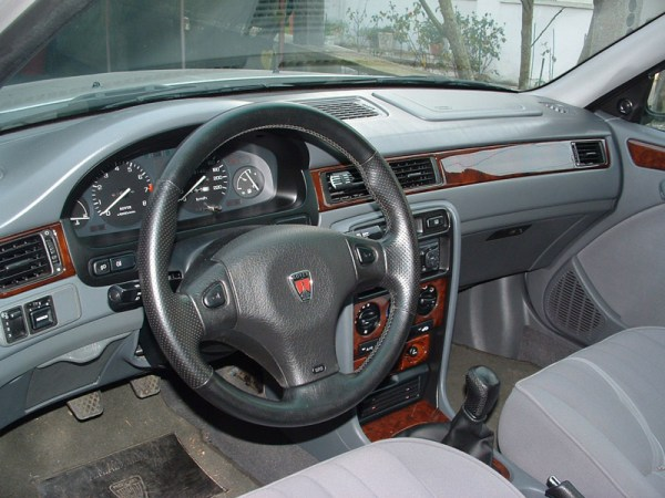 rover-400-interior