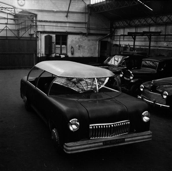 1951 Symetric Paris, first protoype.