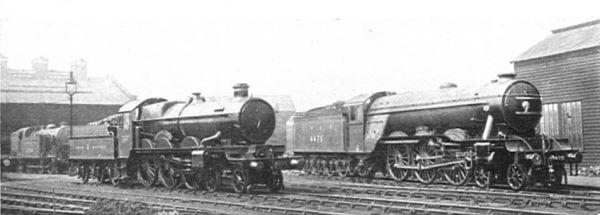 17-1925_locomotive_exchange_pendennis_castle_and_flying_fox_cj_allen_steel_highway_1928