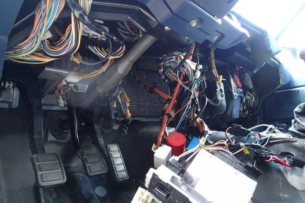 The heater core was time consuming and tedious, but straight forward thanks to a step by step guide found online.
