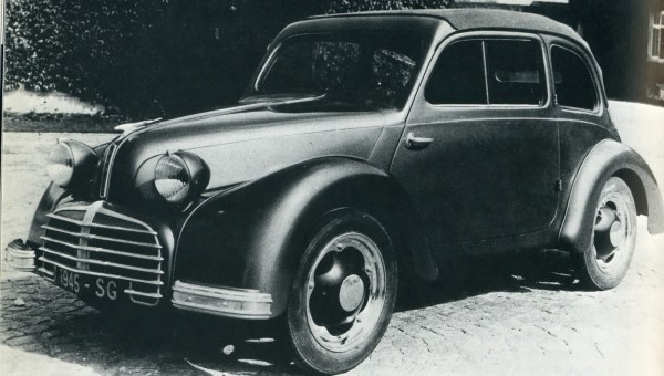 The second Aluminium Français-Grégoire (AFG) prototype built by Simca in 1945, who preferred making Fiats.