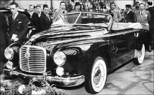 The two-door Hotchkiss-Grégoire cabriolet and fastback: seven made of each variant in two years.