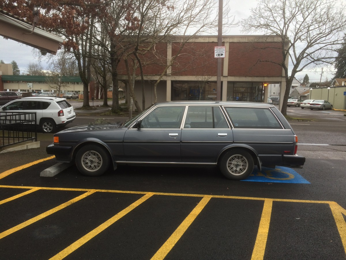 Curbside Classic Capsule: 1986 Toyota Cressida Station Wagon – The Timeless  Toyota 'B-Body' Wagon