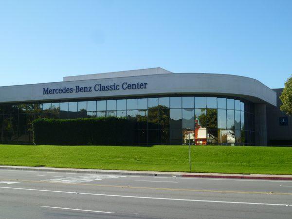 Mercedes-Benz Classic Center, Irvine, CA