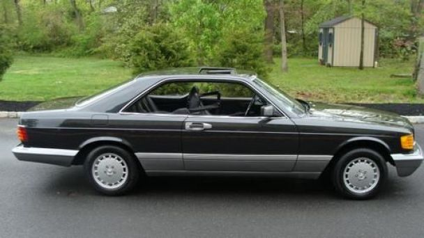 coal cojl 1991 mercedes benz 560 sec only the best car ever. Black Bedroom Furniture Sets. Home Design Ideas