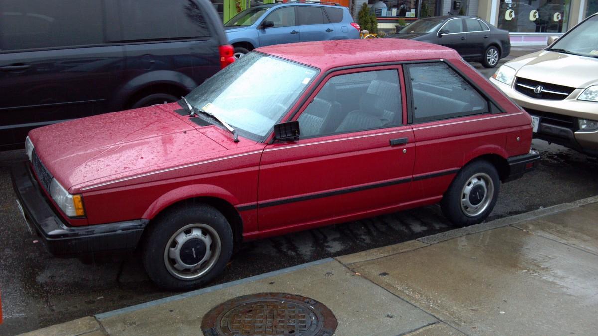 Cohort Outtake: 1987-88 Nissan Sentra Hatchback – When ...
