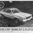 The Bobcat was Mercury's answer to the energy crisis. It wasn't a very original answer, considering that it was just a Pinto with a big, chromey nose and better trim. […]