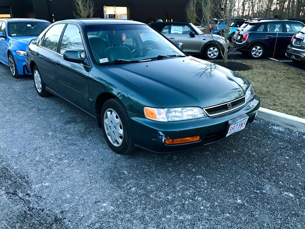 Curbside classic 1996 honda accord lx in accordance for Honda accord models