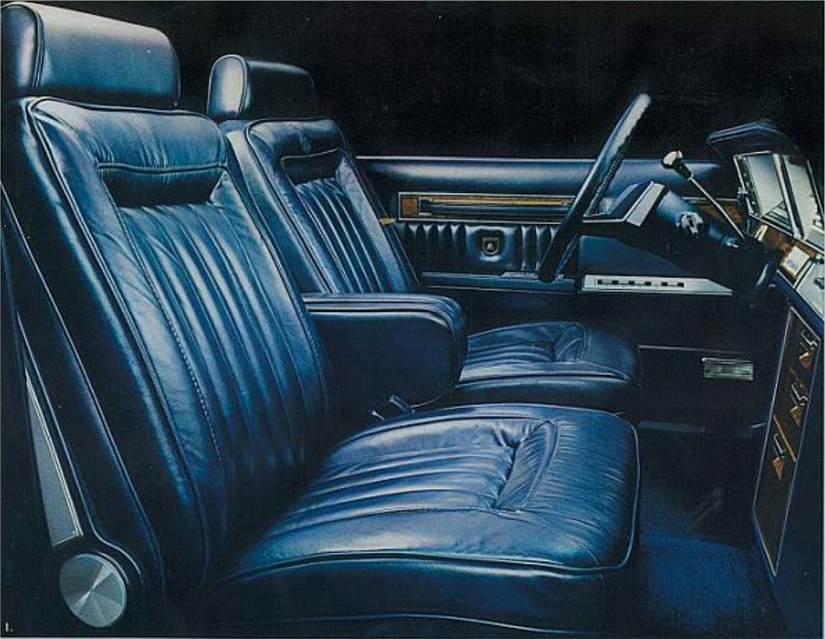 QOTD: Which Vehicles Sucked Compared to the Previous ...  |1983 Chrysler New Yorker Interior