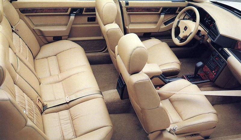 curbside classic 1987 sterling 827 sl a living legend rh curbsideclassic com Rover 827 Last Car Rover 75 Interior