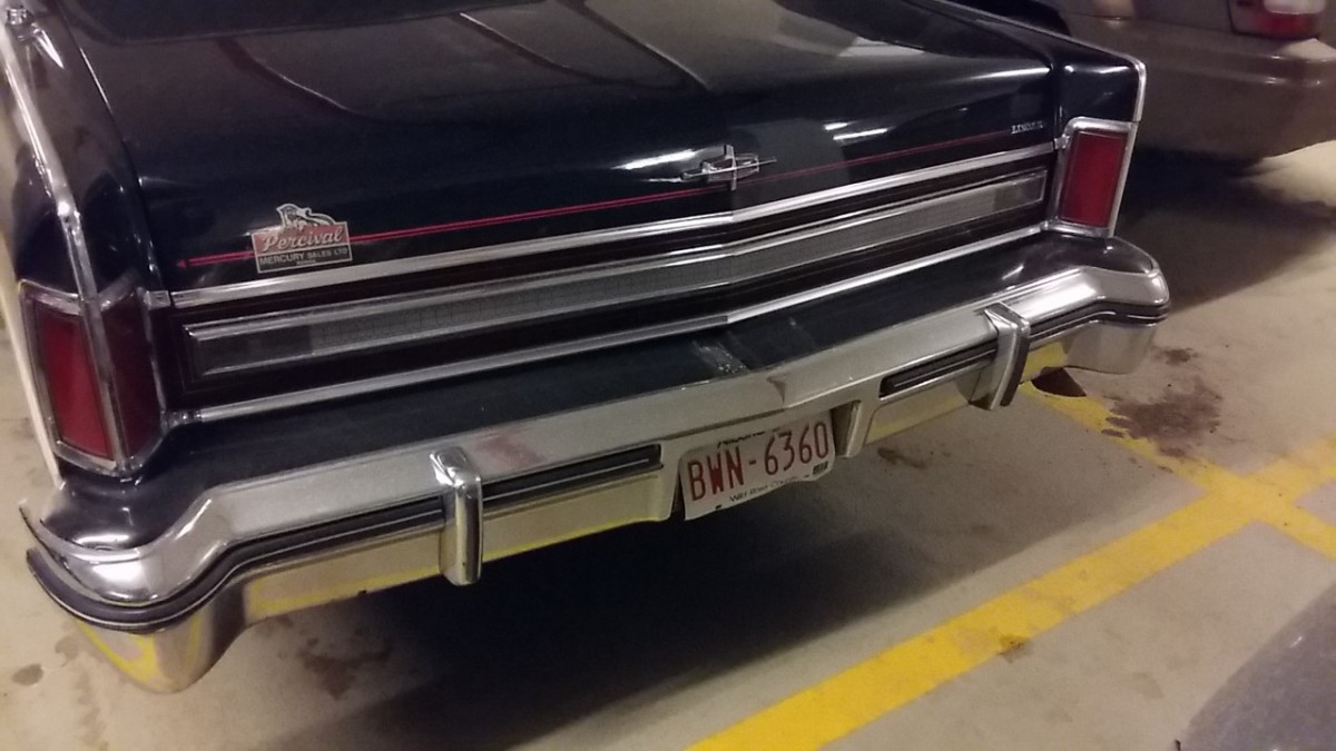 CC Outtake: 1977 or 1978 Lincoln Continental – Driving to