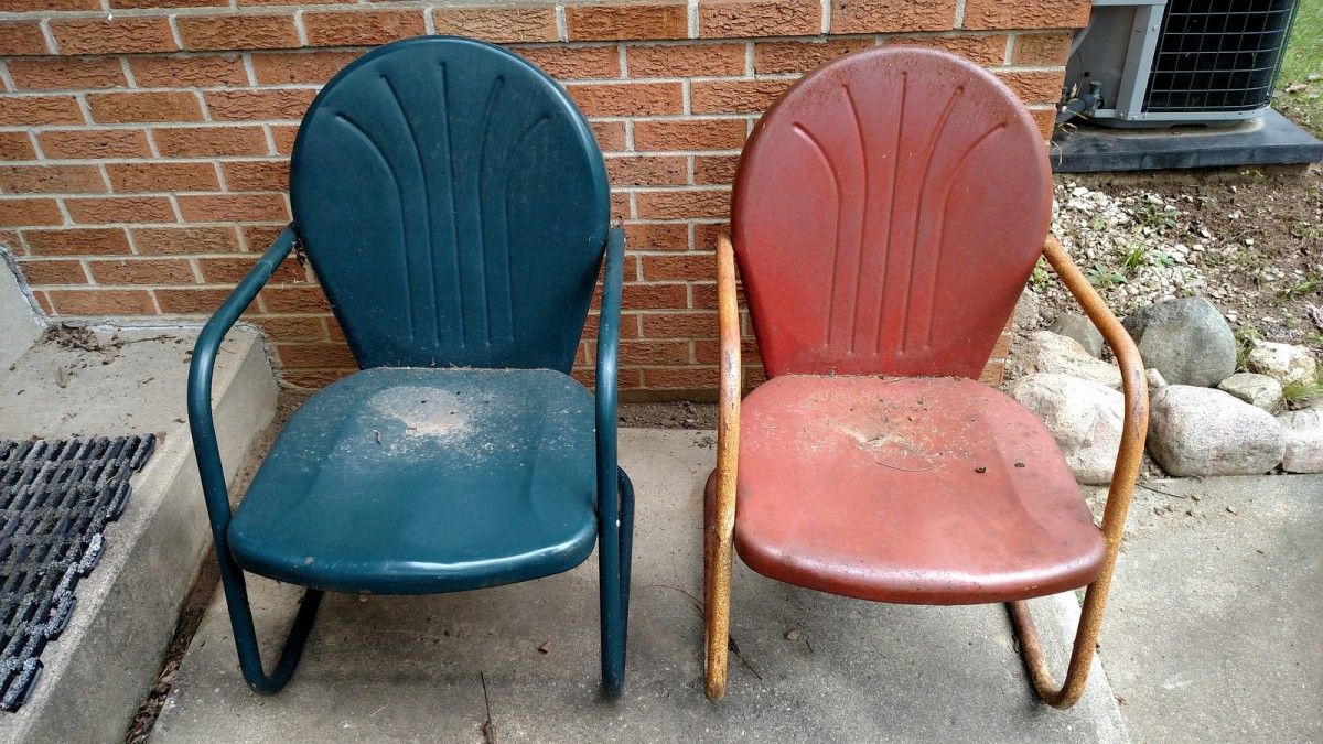 Superb My Patio Classics Steel Lawn Chairs A Restoration Project Download Free Architecture Designs Fluibritishbridgeorg