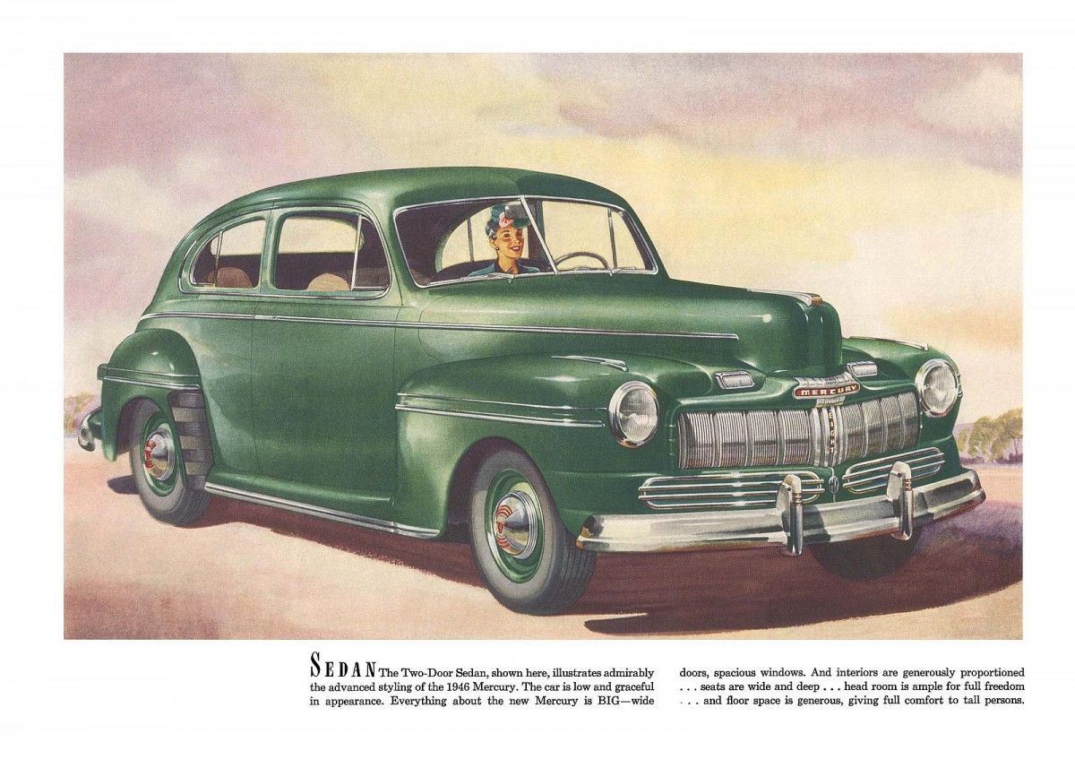 Automotive History Shockingly Low Volume Production Cars The 1941 Mercury 4 Door Sedan During Much Of Its Existence This One Is Hard To Explain Using Three Different Resources All Agree There Were A Mere 34 Two Sedans Sold