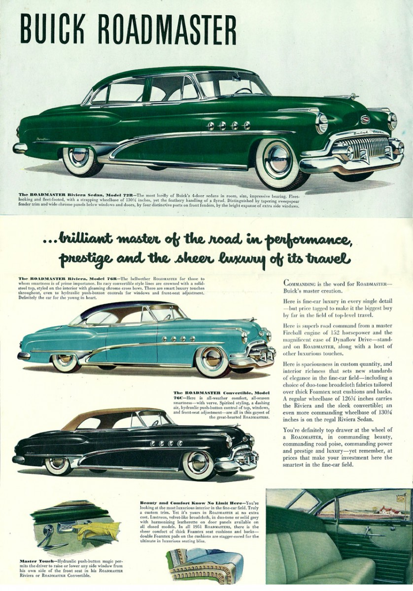 Automotive History Shockingly Low Volume Production Cars The 1951 Buick Skylark Convertible For Sale Roadmaster Riviera Hardtop Coupe