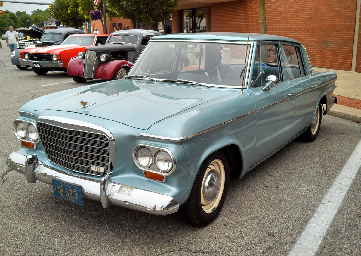 Car Show Classic: 1963 Studebaker Lark Regal – A Left Brain Car ...