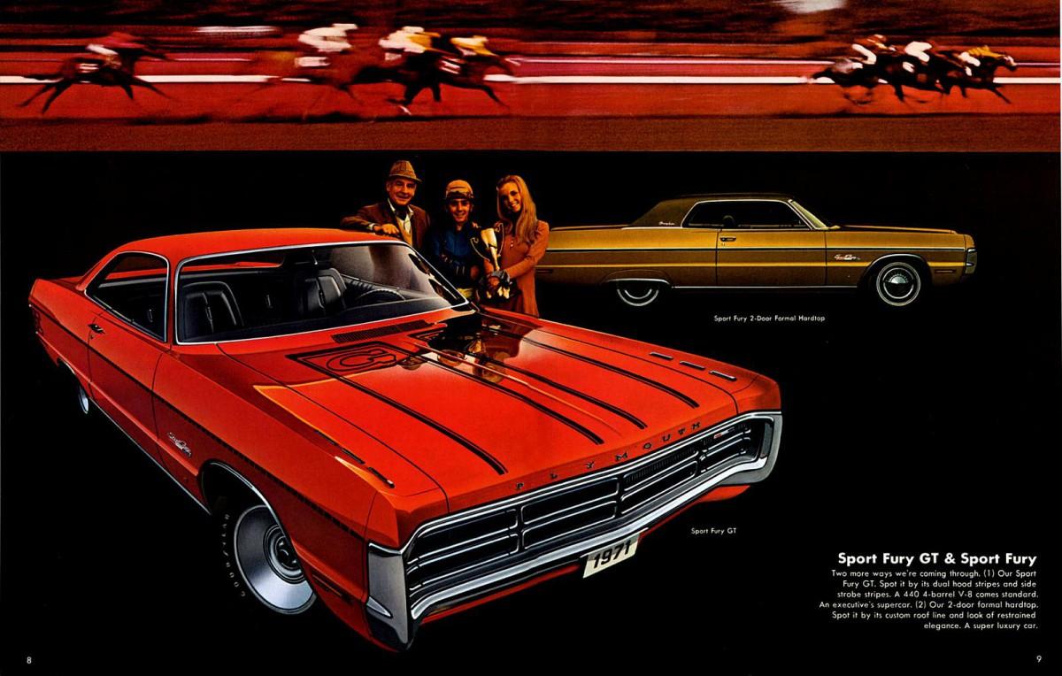 1971 Sport Fury Gt Hardtop Coupe