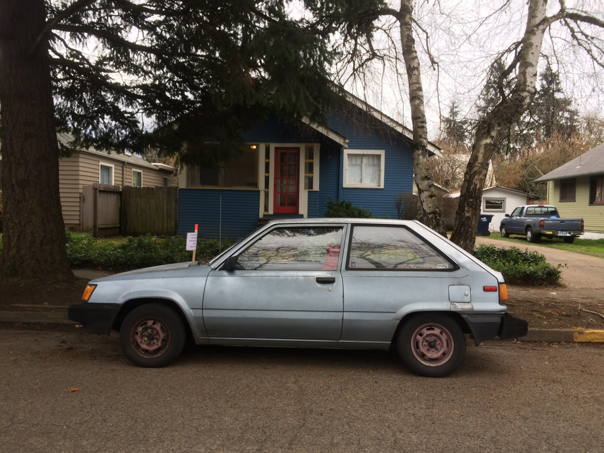 Curbside Capsule 1986 Toyota Tercel Eugene Mobile Of Yesteryear Curbside Classic
