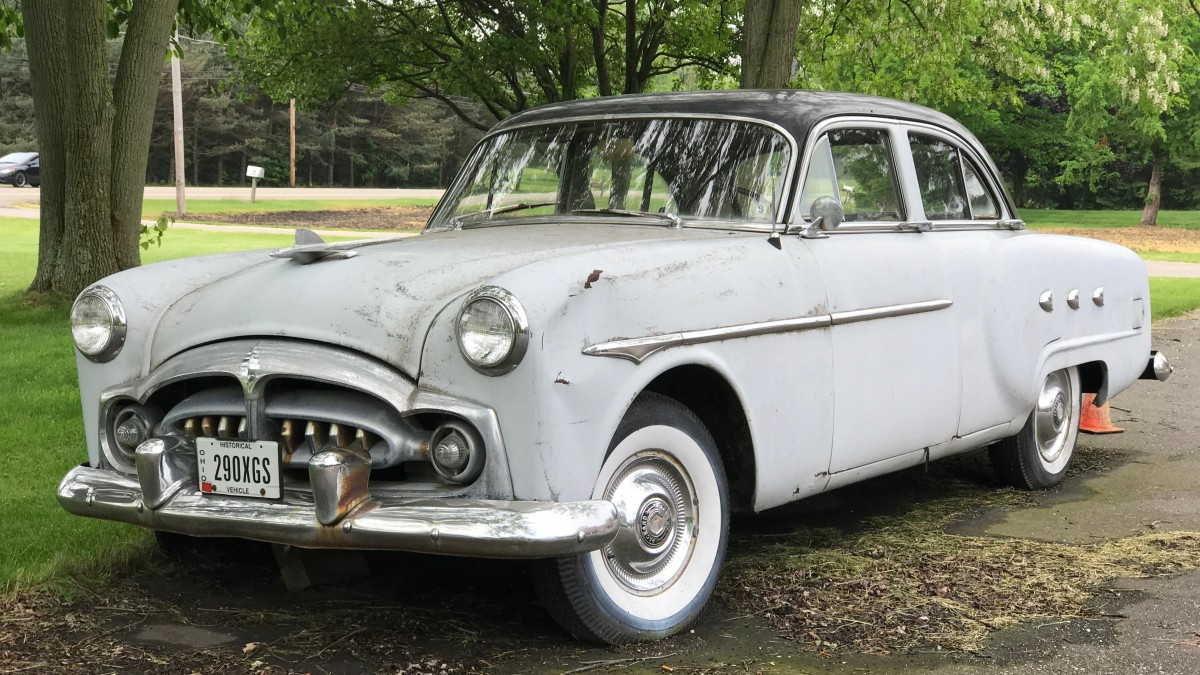 Curbside Classic: 1952 Packard 200 Deluxe – Faded Glory