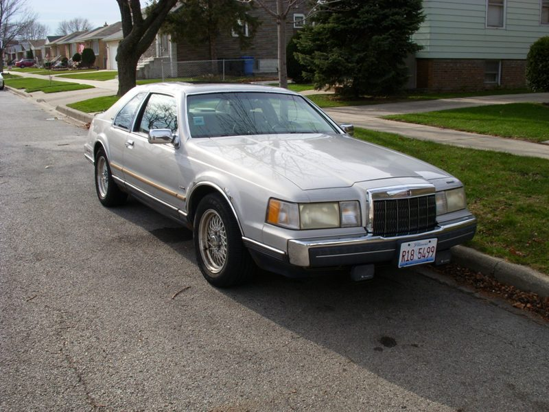 Coal 1989 Lincoln Mark Vii Lsc The Tail Wagging The Dog