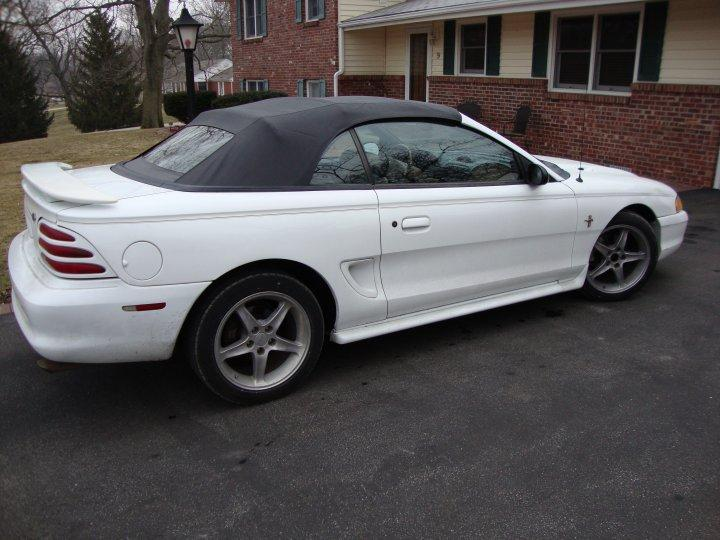 COAL 1995 Ford Mustang GT Convertible  The Last 302