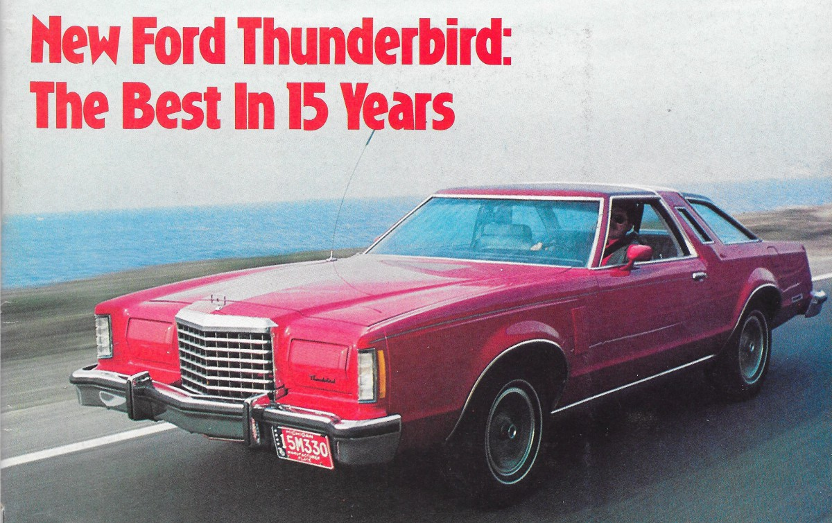 Swell Vintage Reviews 1977 Ford Thunderbird A New Kind Of Uwap Interior Chair Design Uwaporg