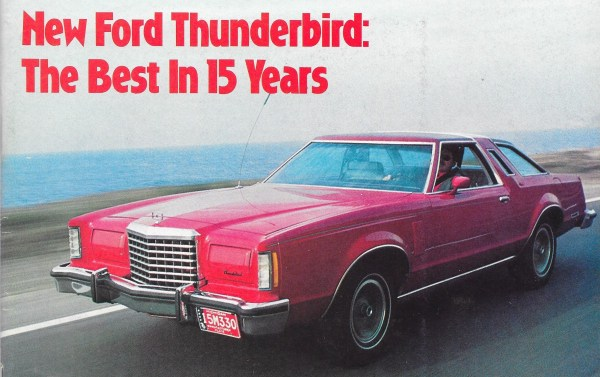 Vintage Reviews 1977 Ford Thunderbird A New Kind Of Thunder