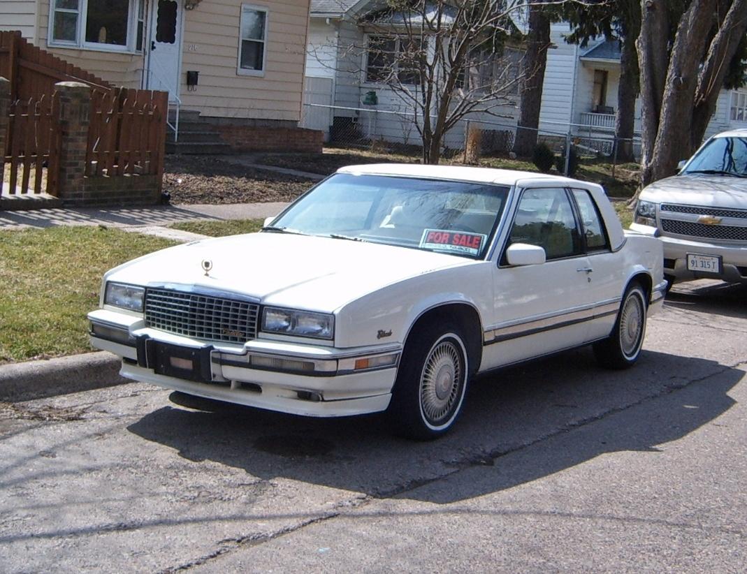 curbside classic 1986 cadillac eldorado a swing and a miss curbside classic 1986 cadillac eldorado
