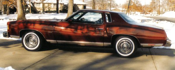 Red Monte Carlo side view