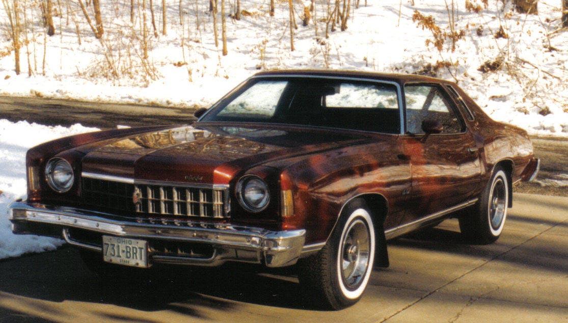 Coal 1975 chevrolet monte carlo a car guys first car sciox Image collections