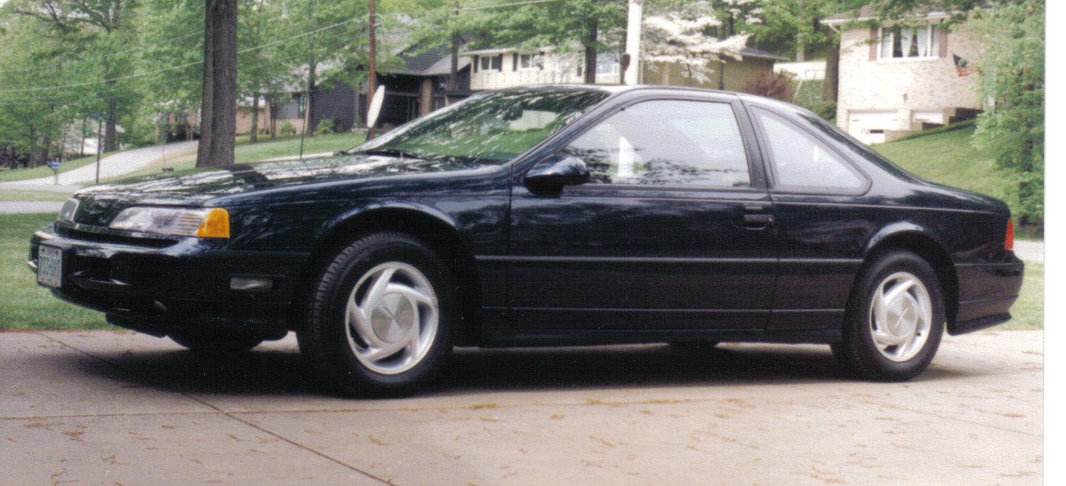 coal 1989 ford thunderbird sc how much is too much rh curbsideclassic com